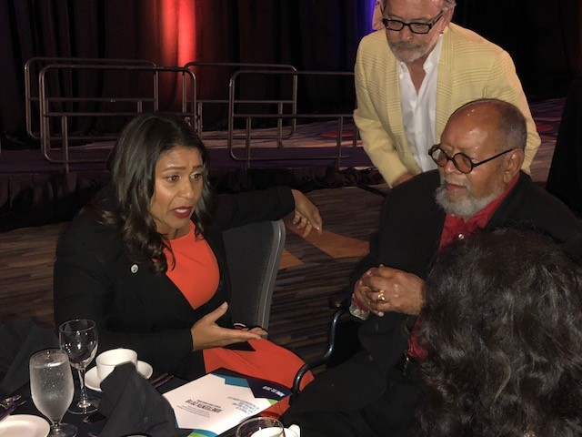 New San Francisco Mayor Breed Honors Glide's Cecil Williams At SF African American Chamber Dinner