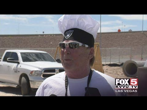 Mark Davis Las Vegas Stadium BBQ Slab In Oakland Raiders Fans Face