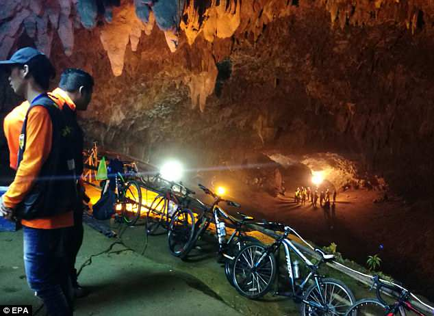 Thai Cave Rescue Update News: Mission Started 40 Minutes Ago