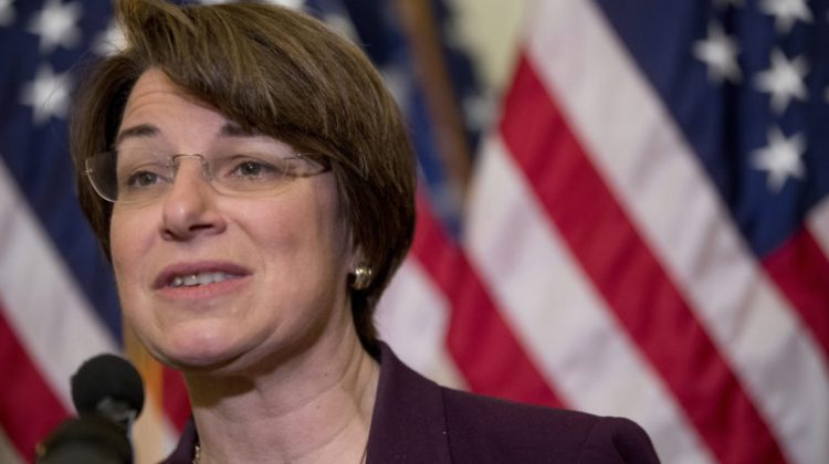 Amy Klobuchar Will Be President Of The United States