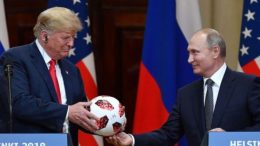 """charles schumer wonders if russian president putin has something on donald trump after disasterous summit - Charles Schumer Wonders If Russian President Putin """"Has Something"""" on Donald Trump After Disasterous Summit"""