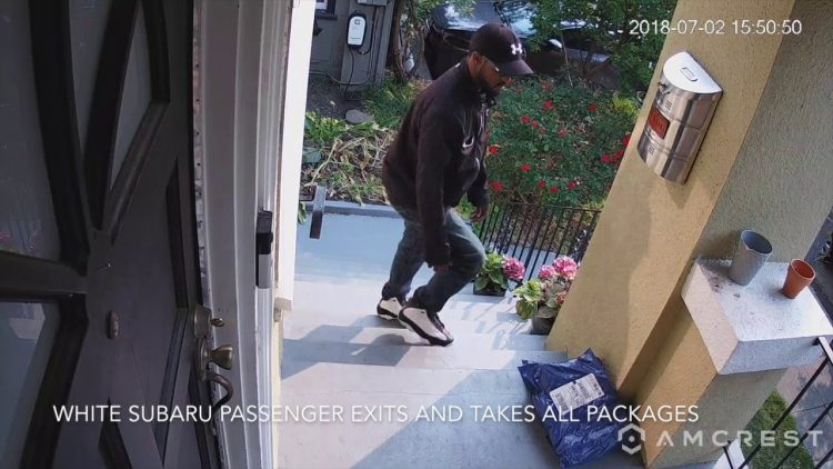 Is Man In Oakland Crocker Highlands YouTube Video A Package Thief? Folks On Nextdoor Think So
