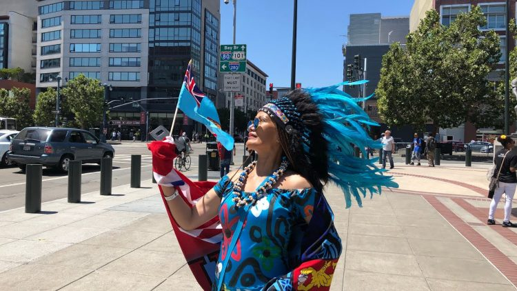 Rugby World Cup Sevens SF 2018 Beautiful Fiji Fan Upset Her Team Lost
