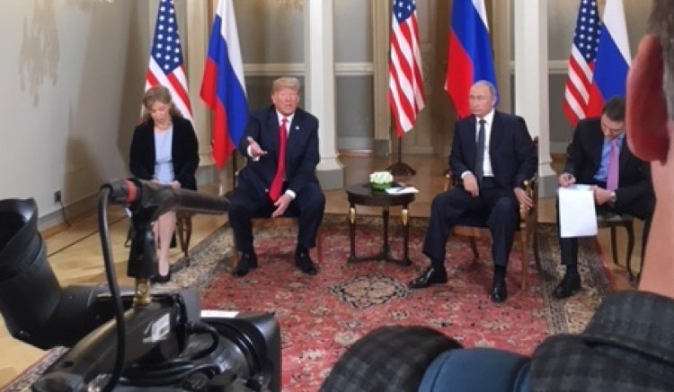 After Trump - Putin Summit, President Trump Accused Of Treason On Twitter With #TreasonSummit