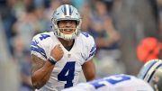Dallas Cowboys quarterback Dak Prescott (courtesy USA Today)