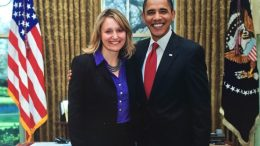 Buffy Wicks and President Obama