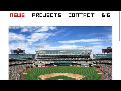 Bjarke Ingels Group BIG Architects Has Oakland A's Stadium News On Website Front Page