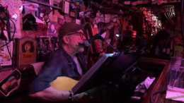 "Paul Hlebcar Sings ""Love Minus Zero / No Limit"" By Bob Dylan At The Alley Bar Oakland"