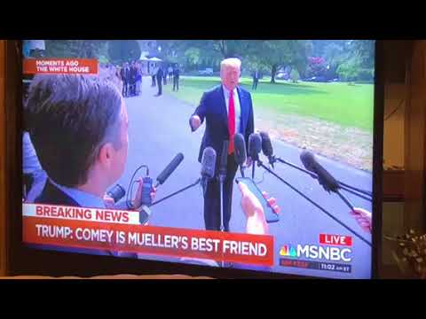 """President Trump Defends Paul Manafort As """"Good Man"""" During Press Conference"""