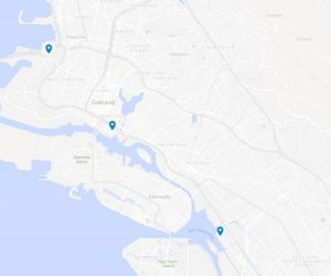 The Oakland Bulky Block Party Events Map