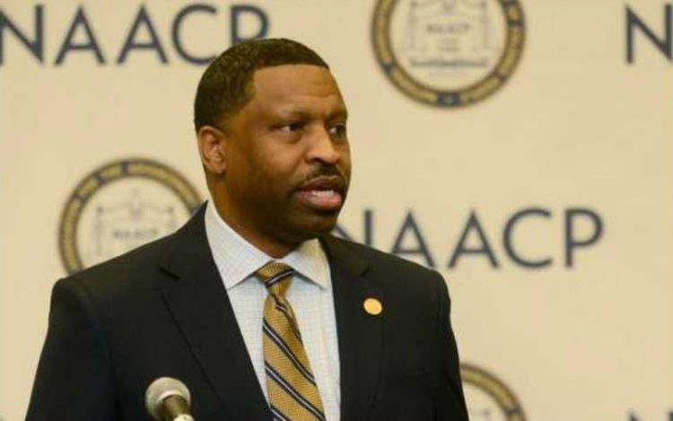 Derrick Johnson NAACP President Calls On Senate To Withdraw Brett Kavanaugh Nomination