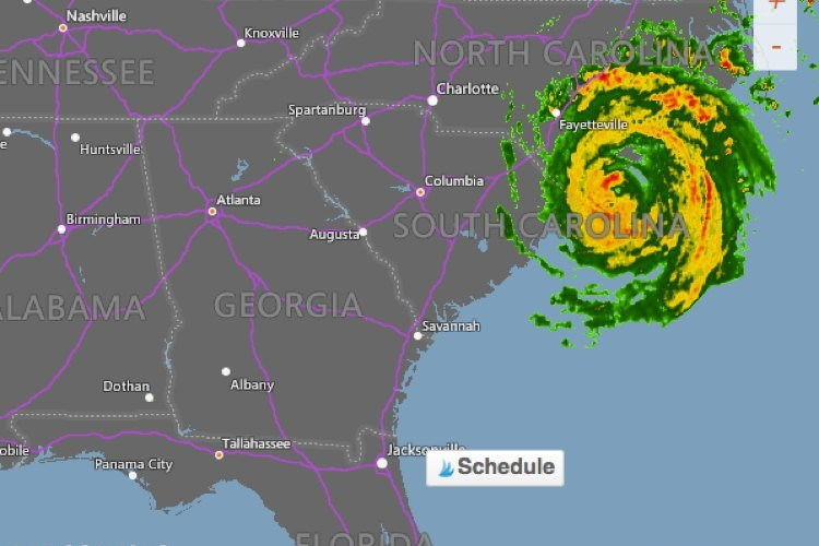 Will Hurricane Florence Reach Fayette County, Georgia?