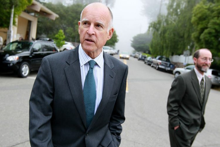 California Governor Jerry Brown And Climate Change Focus Of The Nation Magazine