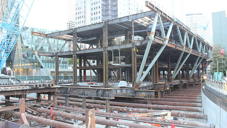 Transbay Transit Center Structure