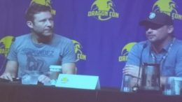 """Smallville"" panel with Michael Rosenbaum (""Lex Luthor"") and Tom Welling (""Clark Kent"")."