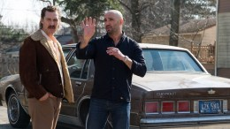 Matthew McConaughey and director Yann Demange on the set of Columbia Pictures' and Studio 8's WHITE BOY RICK.