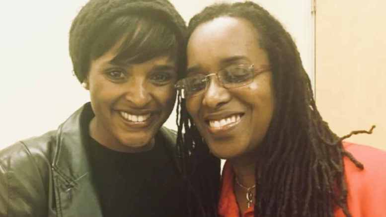 Kim Ellis and Jovanka Beckles