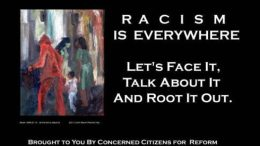 Racism is everywhere, so let's talk about it.