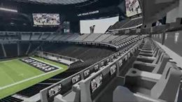 Las Vegas Raiders Stadium Interior