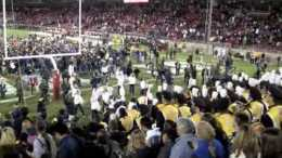 Cal Students, Alums, storm Stanford after last Big Game win