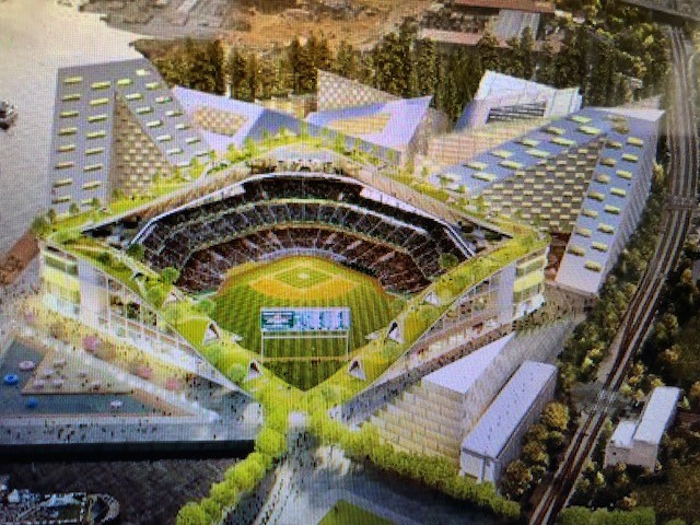 "Oakland A's Ballpark At Howard Terminal To Cost $850 Million, Use ""Ballpark Village"" Financing Plan"