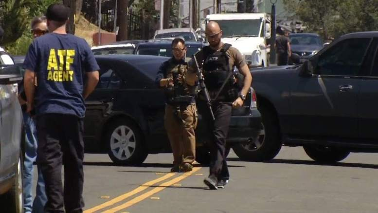 Photo Of ATF Agent in Oakland (courtesy ABC 7 News)