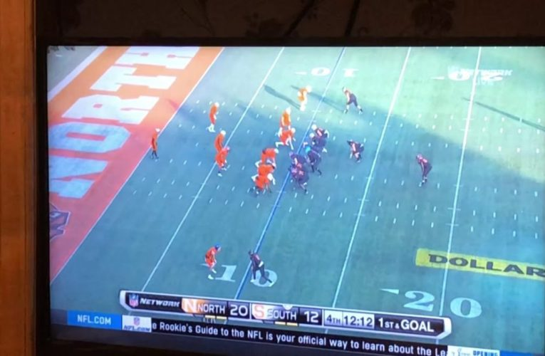 Tyree Jackson Throws TD, After 54yd Bomb In Senior Bowl, NFL Network Disses Him