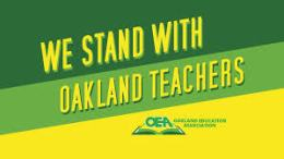 Oakland Teachers Strike