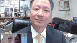 SF Public Defender Jeff Adachi with Zennie Abraham