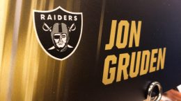 jon gruden oakland raiders head - Jon Gruden Oakland Raiders Head Coach At 2019 NFL Owners Meeting