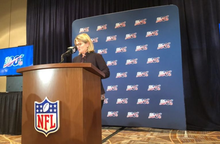 NFL Annual Meeting 2019 Monday Press Conference On Marketing