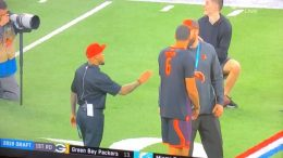 Tyree Jackson Gets Valuable Coaching From Steve Smith At NFL Combine