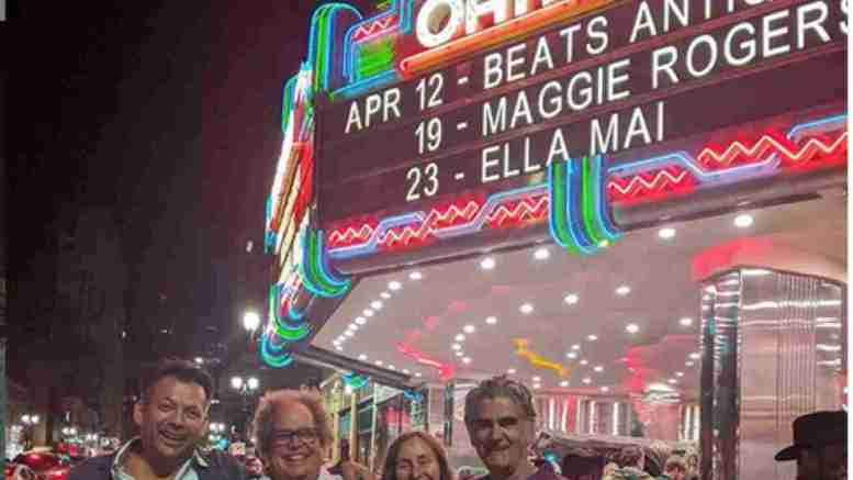 Burning Man Friends At Fox Theater Oakland On Instagram