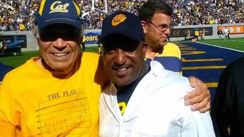 Cal's Joe Kapp and Rusty Simms
