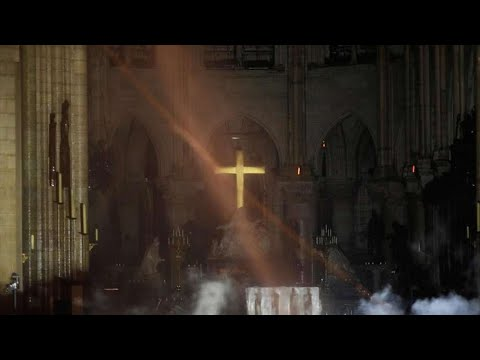 Notre Dame Cathedral Fire Cross Survives: There Is God