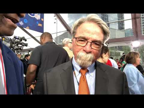 Tennessee Titans CEO Steve Underwood Interview At 2019 NFL Draft Red Carpet