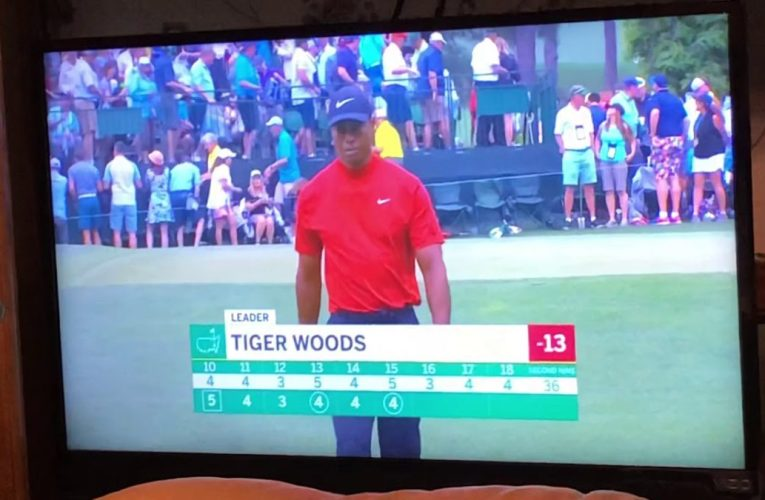 Tiger Woods Is Sole Leader Of The 2019 Masters