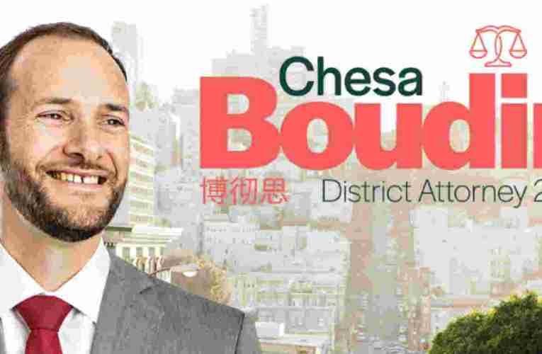 Senator Bernie Sanders Endorses Chesa Boudin For SF DA