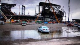 Oakland Raiders Las Vegas Stadium Construction Delayed By Rain Again Says JediRich Lightowler