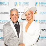 Music Biz President Jim Donio and Bebe Rexha Music Biz 2019 Awards Dinner Red Carpet Photo by Blu Sanders