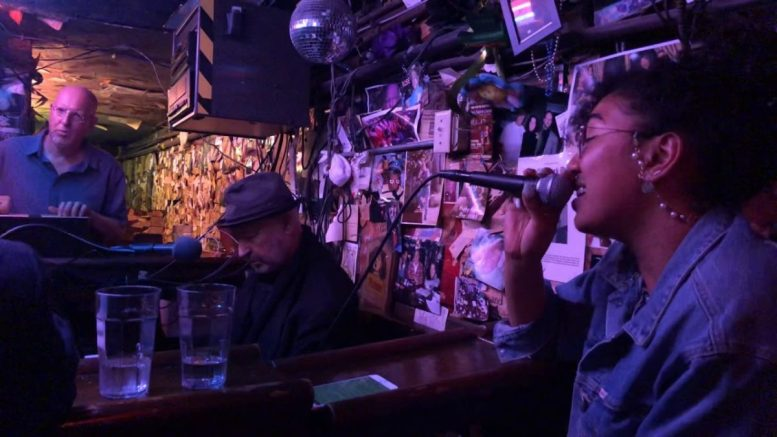 "Jeff Labes At Piano, Rhonda Lee Sings ""the House Of The Rising Sun"" At The Alley Oakland"