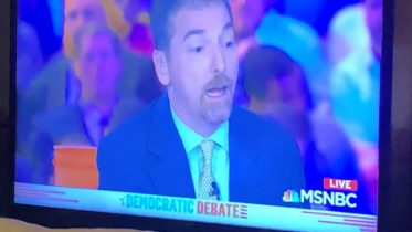 Msnbc Has Mic Problem During Democratic Debate