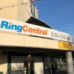 """ringcentral Coliseum"" Name On Oakland Coliseum For 2019 Nba Finals"