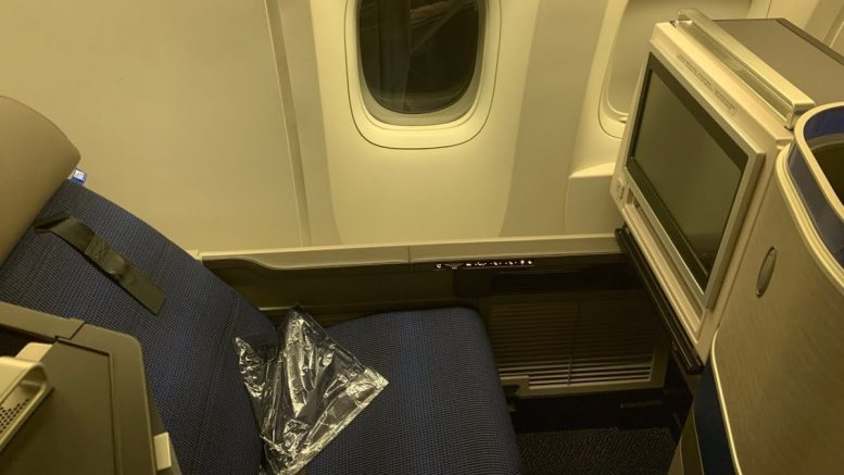 United Airlines B777 200 First Class Lax To Ord