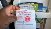 """United Airlines Promotes """"spider Man Far From Home"""" On Flight Napkins"""