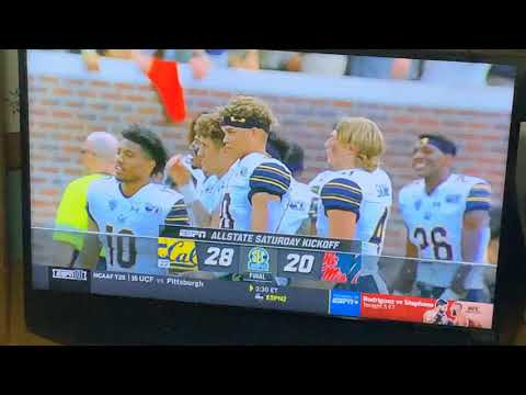 California 28 Ole Miss 20 Cal Football First Pac-12 Win Over SEC On Road Since 2009