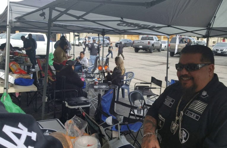 The Original L A.Raiders Booster Club End Of The Season Tailgate Party