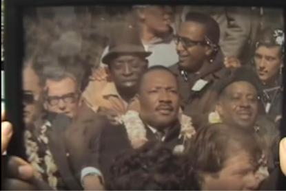 Paul Cobb And Dr Martin Lurther King Jr