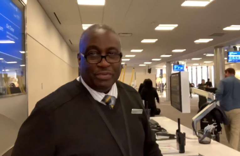 Kevin Brooks, United Airlines Best Gate Agent At Atlanta Airport, Is Back