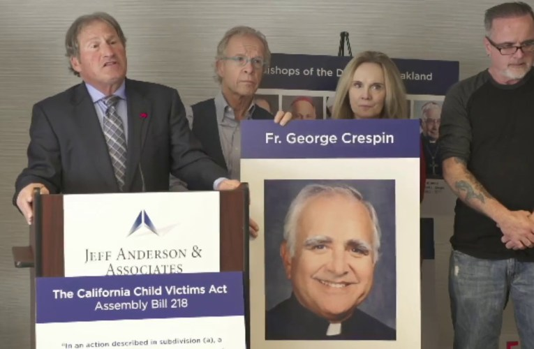 First Lawsuits Filed Against Diocese Of Oakland For Sexual Abuse Under Child Victim's Act
